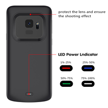 CASEWIN Battery Charger Case For Samsung Galaxy S9 Battery Case 4700mAh Mobile Power Bank External Backup Charger phone Case