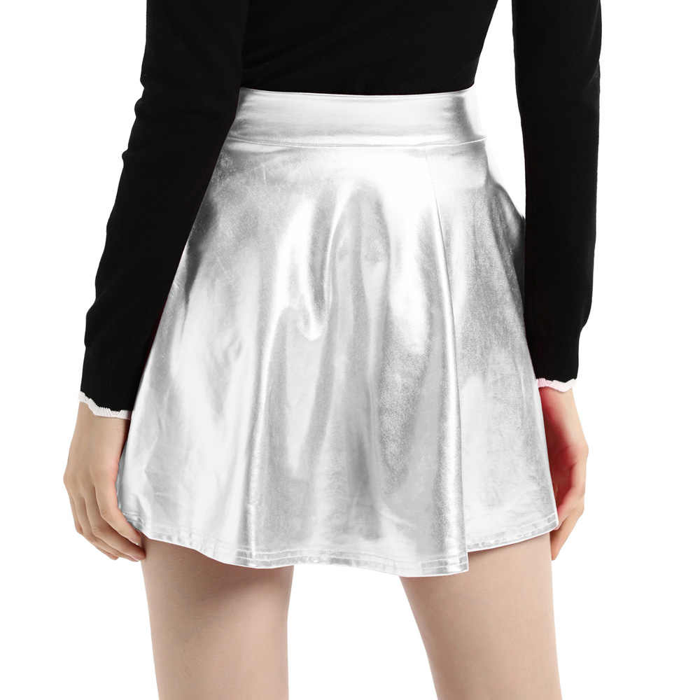 58d537d8dd0 ... Women High Waist Velvet Pleated Skirts New Fashion Velvet Black Short  Sexy Skater Skirt 3 Colors ...