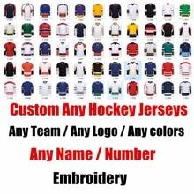 Custom ICE Hockey Jerseys Replica Home Away Mens Woman Kid Youth Vintage Jersey  USA CANADA Australia 312ef6f8a