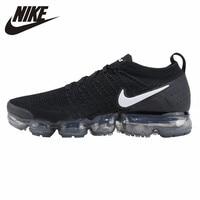 NIKE VAPORMAX FLYKNIT мужские спортивные мягкие туфли дышащие кроссовки для бега 942842 001
