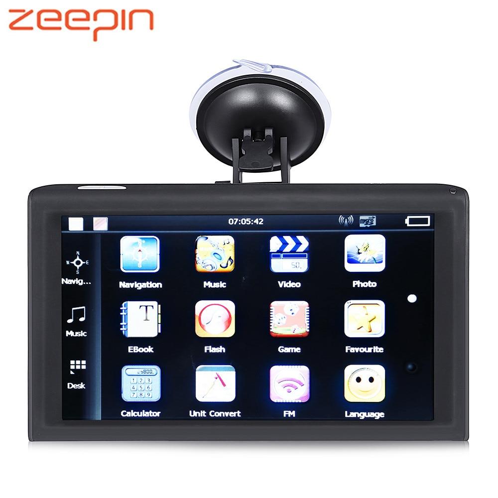 Zeepin Car GPS Navigator 9inch Touch Screen WINCE System Dual-core Vehicle GPS 256MB 8GB HD 800x480 FM Radio GPS NavigationZeepin Car GPS Navigator 9inch Touch Screen WINCE System Dual-core Vehicle GPS 256MB 8GB HD 800x480 FM Radio GPS Navigation