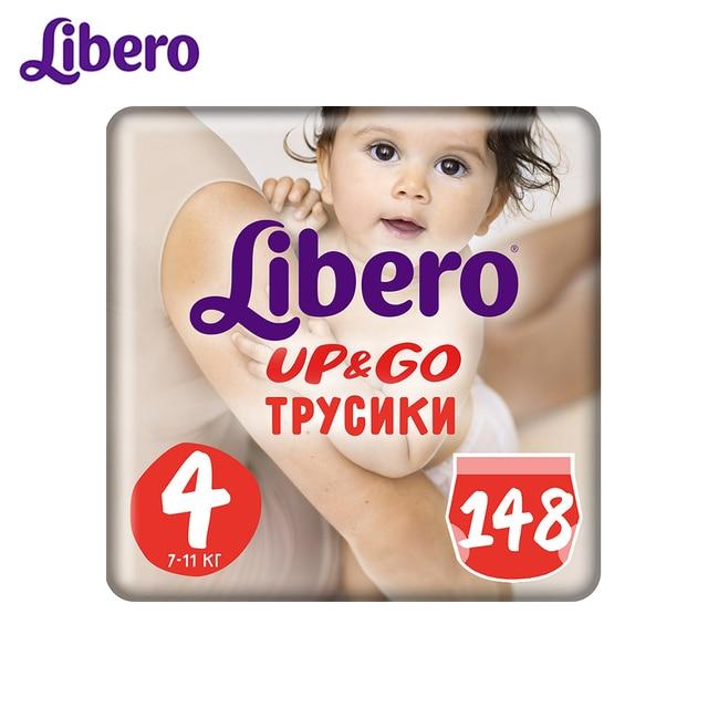 Трусики- подгузники  Libero Up&Go 4, 7-11 кг, 148 шт