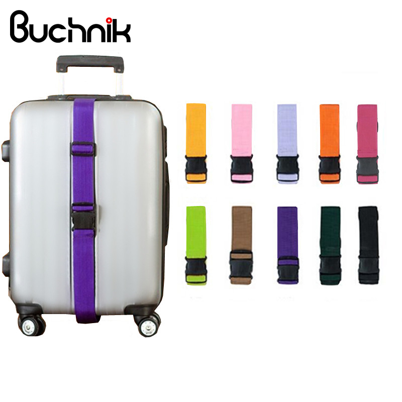Fixed Telescopic Luggage Strap Travel Accessories Suitcase Belt Trolley Adjustable Security Scalable Bags Parts Case Supplies