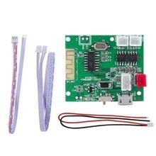 Placa amplificadora Bluetooth 5,0, 2x5W, entrada de Audio AUX, placa amplificadora de potencia DC 3,7 V 5V 40MM * 34MM * 9MM, tamaño PCBA