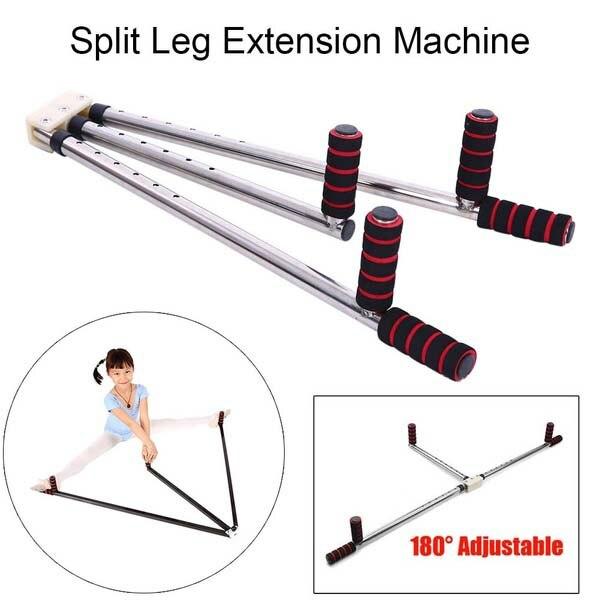 Practical Leg Extension Machine Flexibility Training Split Legs Ligament Stretcher for Dance Taekwondo Yoga Sanda leg extension split machine