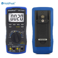 Multimetro HoldPeak HP 770HC True RMS Auto Ranging Digital Multimeter with NCV Feature and Temperature/Frequency/Duty Cycle Test