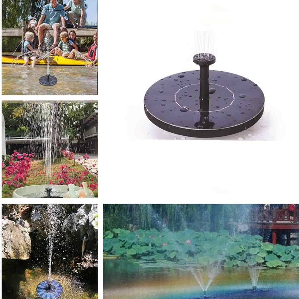 MINI Solar Powered Floating Bird Bath Water Panel Fountain Pump Garden Pond Pool