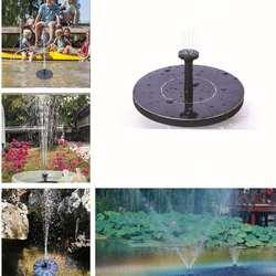 Мини солнечные плавающие птицы для ванны водяная панель фонтан насос Сад Пруд бассейн
