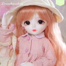 New arrival LinaChouchou Baby Miu 1/6 bjd sd doll Fashion Mini toys For Girls Birthday Xmas Best Gifts