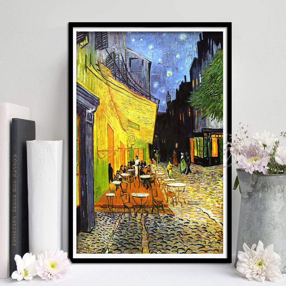 Us 1 6 Home Decoration Modern Frameless Canvas Prints Cityscape Picture Wall Art Ready To Hang For Bedroom Kitchen Decor In Painting