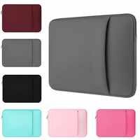 """Yicana pochette pour ordinateur portable 11 """"12 13 14 15 15.6 pouces étui pour ordinateur portable sac souple pour Macbook Air Pro Retina Ultrabook 12.9"""" poche pour tablette"""