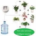Energia solare Tempi Intelligente Giardino Dispositivo Automatico di Irrigazione Impianto di Irrigazione a goccia tubo di Acqua Strumento di Pompa Sprinkler Micro Sistema