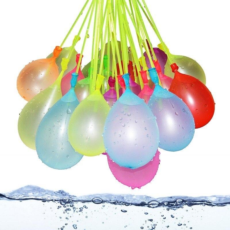 111pcs Water Bombs Balloon Amazing Filling Magic Balloon Children Water War Game Supplies Kids Summer Outdoor Beach Toy Party