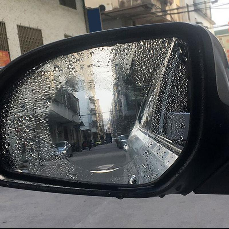 NEW 2pcs pack Car Rearview Mirror Waterproof Anti Fog Rain Proof Film Side Window Glass Film A Variety Of Size Specifications in Mirror Covers from Automobiles Motorcycles
