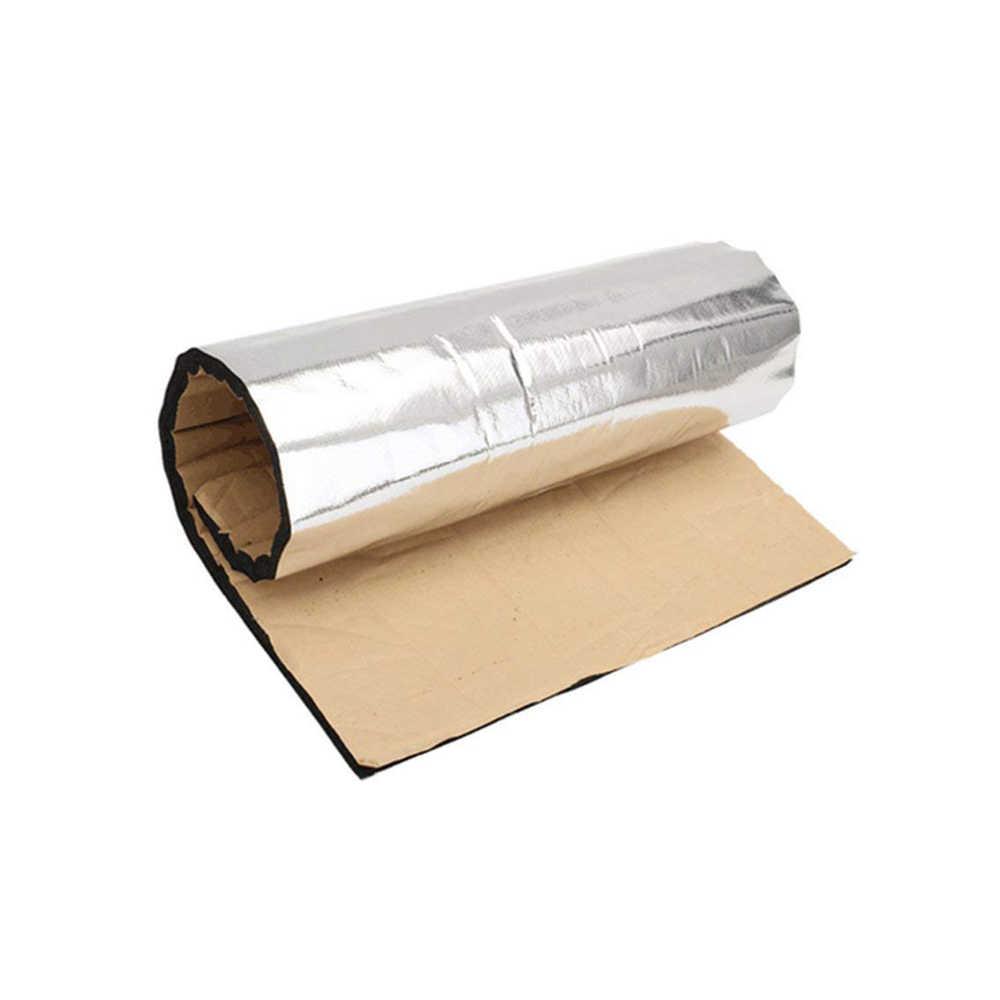 Kendaraan Aluminium Foil Isolasi Sel Tertutup Busa Lembar 10 MM Mobil Van Kedap Suara Mematikan Isolasi Mobil Hood Isolasi