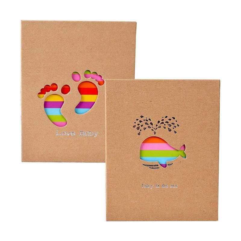 Photo Album Insert 4R6 Inch 100 Family Baby Album Children's Growth Small Creative Gifts