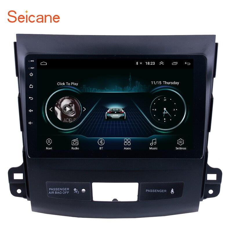 Seicane 9 inch Android 8 1 Car Radio Player For MITSUBISHI Outlander 2006 2007 2008 2014