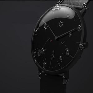 Image 5 - Механические кварцевые часы Xiaomi Mijia, BT, IP67 водонепроницаемые оригинальные смарт часы с шагомером, умными напоминаниями для Android, iOS