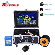 SYANSPAN 7 «Рыболокаторы IP68 HD 1000TVL Запись Edition Подводная охота Видео Камера с 12 шт Белый/ИК-светодиодов