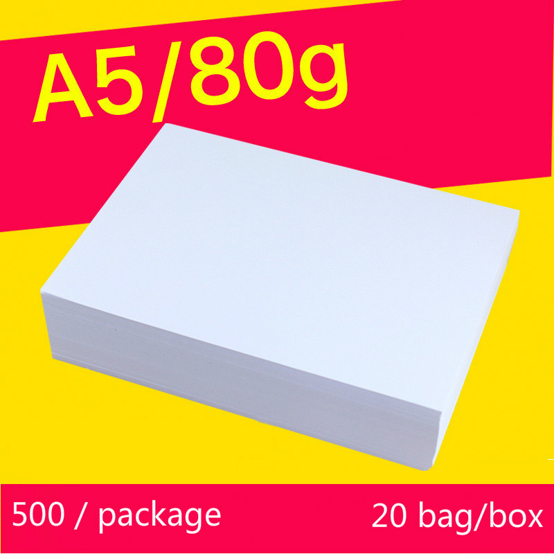 A5 80G 1000Sheets full wood pulp photocopy sizes printed writing white paper Manufacturers wholesale office inkjet paper rollA5 80G 1000Sheets full wood pulp photocopy sizes printed writing white paper Manufacturers wholesale office inkjet paper roll