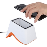 USB Scanning Platform 2D QR Code Barcode Scanner Support Wechar/Alipay Mobile Payment Market
