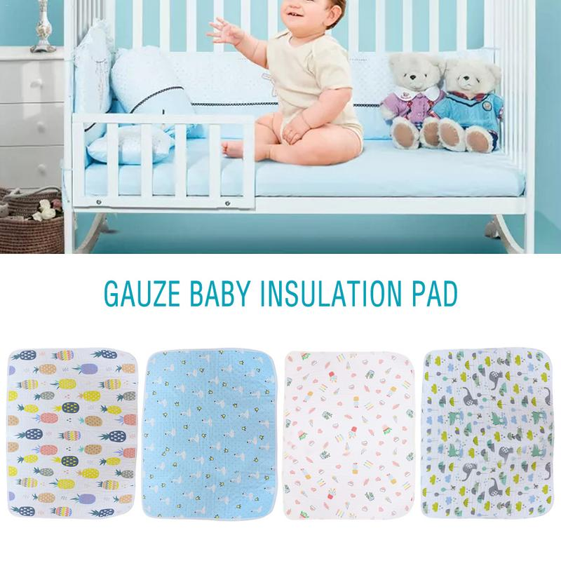 Infant 100% Cotton Crib Fitted Sheet Soft Nap Mat Baby Bed Mattress Pads Cover Protector Cartoon Newborn Bedding For Cot Size