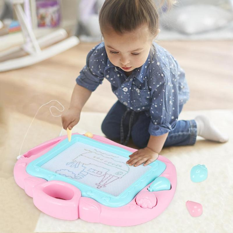 Creative Magnetic Drawing Board Children Kids Drawing Desk Doodle Early Learning Education Painting Writing Sketch Pad Toys Gift