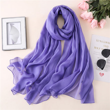 2019 New Silk Scarf For Women Solid Spring Scarves Large Shawls Wraps Ladies Pashmina Female Satin Bandana Hijabs Scarf Foulard 2019 new silk scarf for women solid spring scarves soft shawls wraps ladies pashmina bandana hijabs scarf foulard beach stoles