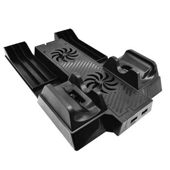 Charging Stand Station with Dual Cooling Fan for Xbox One X Game Console