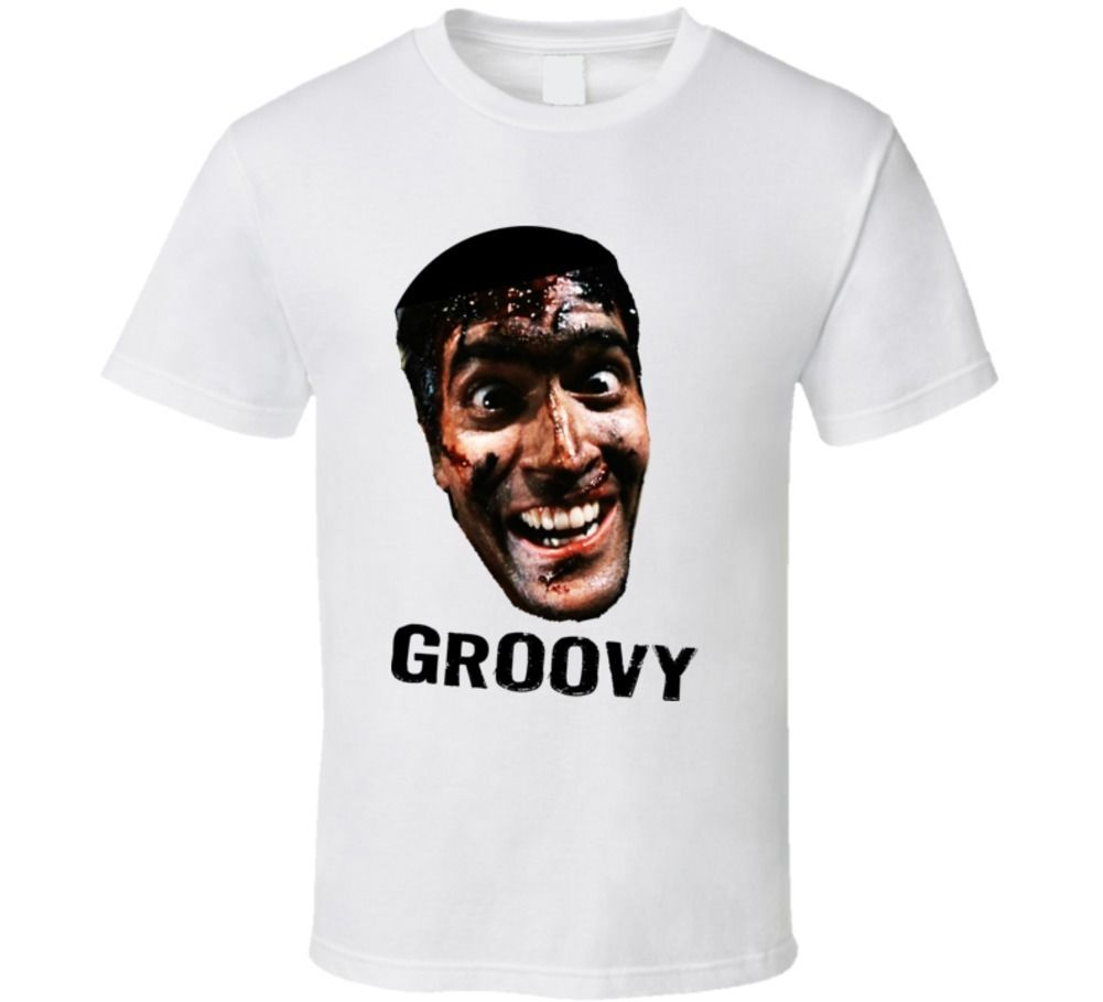 The Evil Dead Classic Movie T Shirt