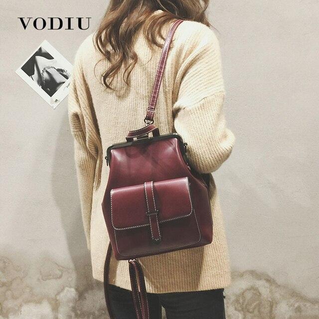 Plecak szkolny dla kobiet plecak skórzany mały Mochila Feminina torebka Vintage na ramię kobieta Mini plecak szkolny Sac A Dos