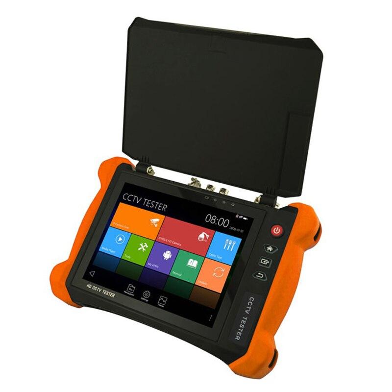 X9-Adhs testeur de caméra de vidéosurveillance 8 pouces Ips presse écran 2048X1536 moniteur 4K testeur de vidéosurveillance avec Cvbs/Hdtvi/Hdcvi/Ahd/Sdi/Ip caméra Su