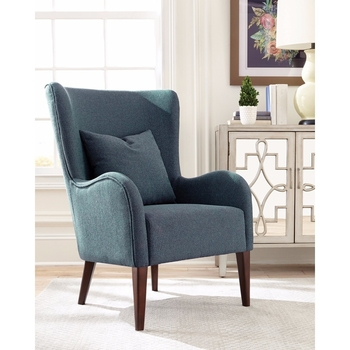 Sleek Figure Accent Chair