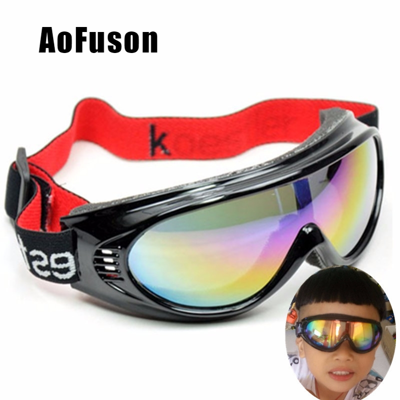 Kids Snowboard Goggles Outdoor Sports Snow Children Glasses Snowmobile 4-11 Years Boys Girls Motocross Photochromic Ski Eyewear