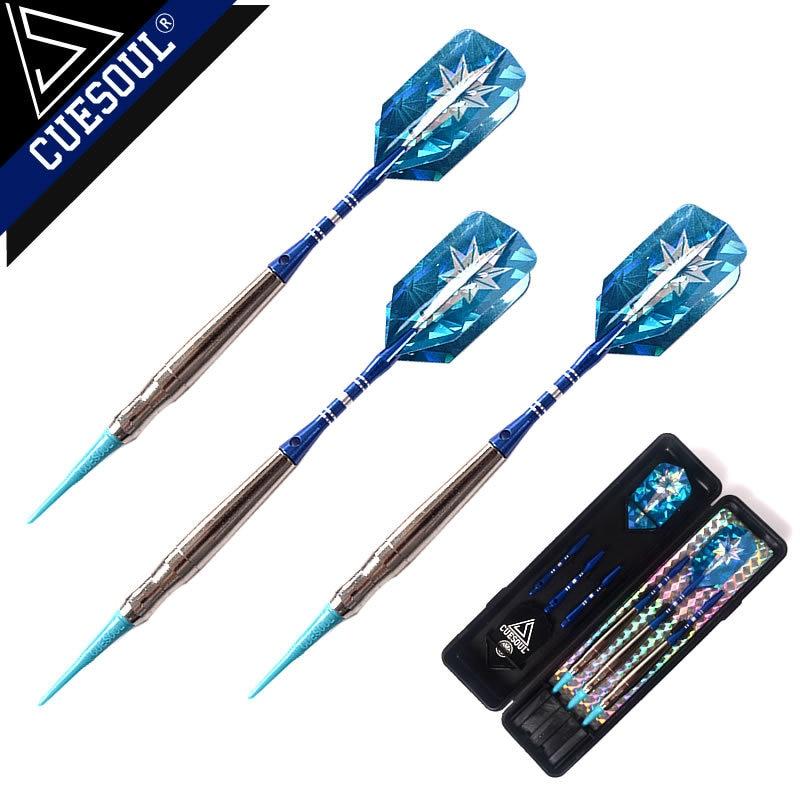 Új CUESOUL 3PCS / készlet 18g 15cm réz dart test elektronikus dart tű alumínium dart bár Dart járatok