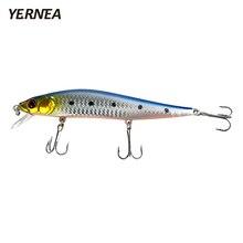 Yernea 1PCS 14cm 22.4g Minnow Fishing Lures 5 Colors Wobblers 3D Eyes Artificial Bait Carp Tackle Crankbait Accessories