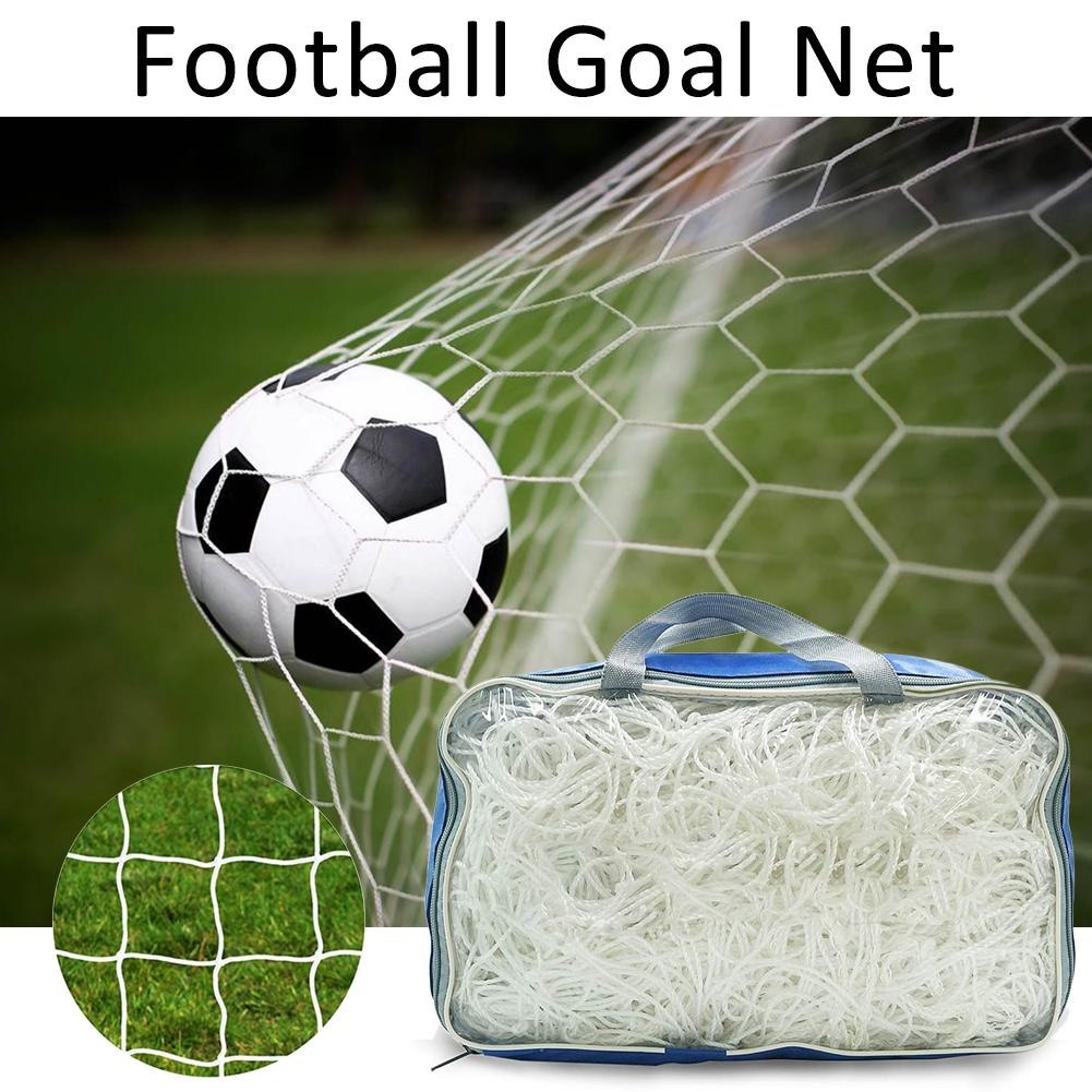 Single Football Net Standard 11 Outdoor Training Game Rebound Protective Nets Polyethylene Soccer Goal Net for Soccer Goal #20