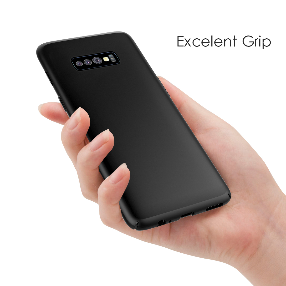 For Samsung Galaxy S10 S10 Plus S10E Case Soft Silicone Slim Matte TPU Phone Case For Samsung S10 Back Cover Shockproof Funda in Fitted Cases from Cellphones Telecommunications