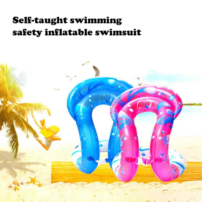Inflatable Swim U-armpit Floating Rings Pool Toys Summer Kids Swimming Ring Float PVC Inflatable Swim Seat Safety Water Toy