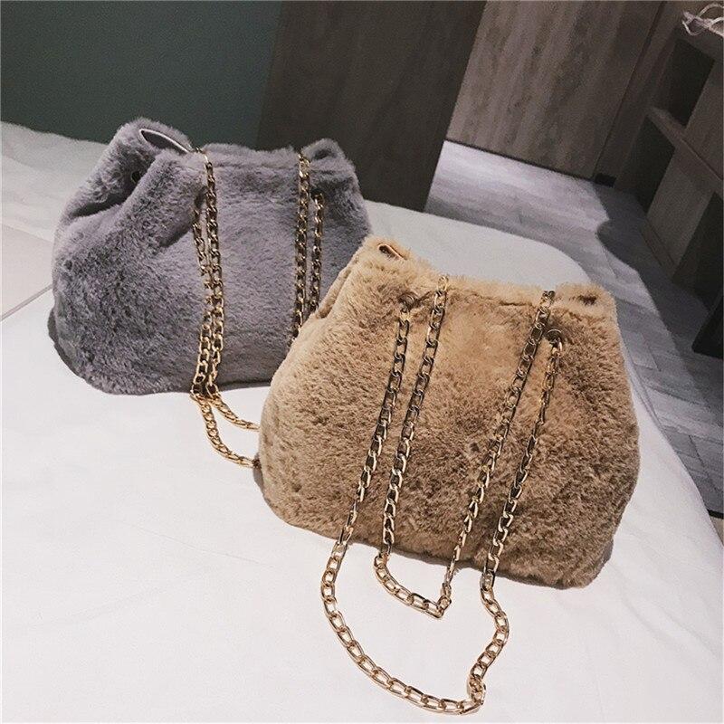 f7710748ae ... Faux Fur Messenger Bag Female Shoulder Crossbody Bag Ladies Tote. -35%.  Click to enlarge