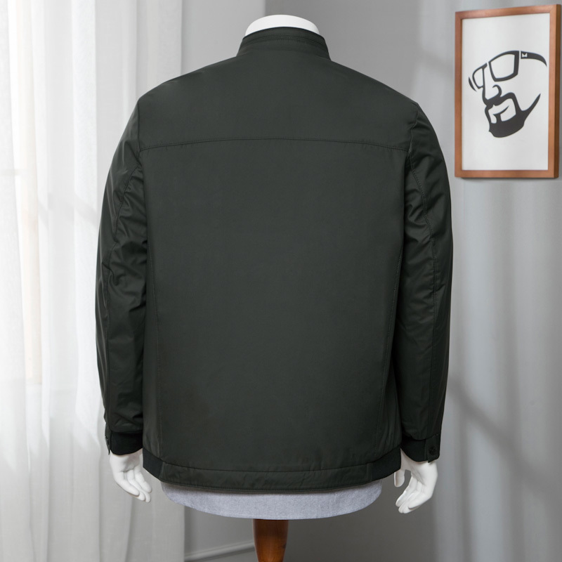 3a71c3f7e9a 7xl Hommes Automne Manteau De 6xl Veste Green Solide 8xl Casual Vestes Mode Élastique  2018 Manteaux ...