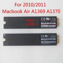 Original 128GB 256GB SSD For Apple Macbook Air A1369 A1370 Solid State Drive MC 505 506 MC965 966 THNSNC128GMDJ MZ-CPA2560