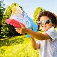 Pistola de água grande capacidade alta presure armas de água de longo alcance praia piscina esguicho brinquedos de água para crianças