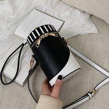 Barrel-Shaped Crossbody Bags For Women 2019 High Quality PU Leather Female Luxury Handbag Designer Ladies Shoulder Messenger Bag недорого