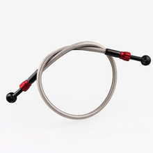 M10 Hydraulic Reinforced Brake Clutch Oil Hose Line Pipe With movable joint for Motorcycle ATV Dirt Pit Bike