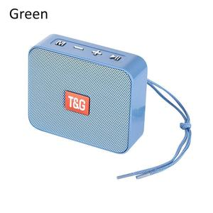 Image 2 - Portable Mini Speaker Innovative Square Wireless Bluetooth Card TG166 Support Micro TF Card Player Stereo Hd Bass Sounds Devices