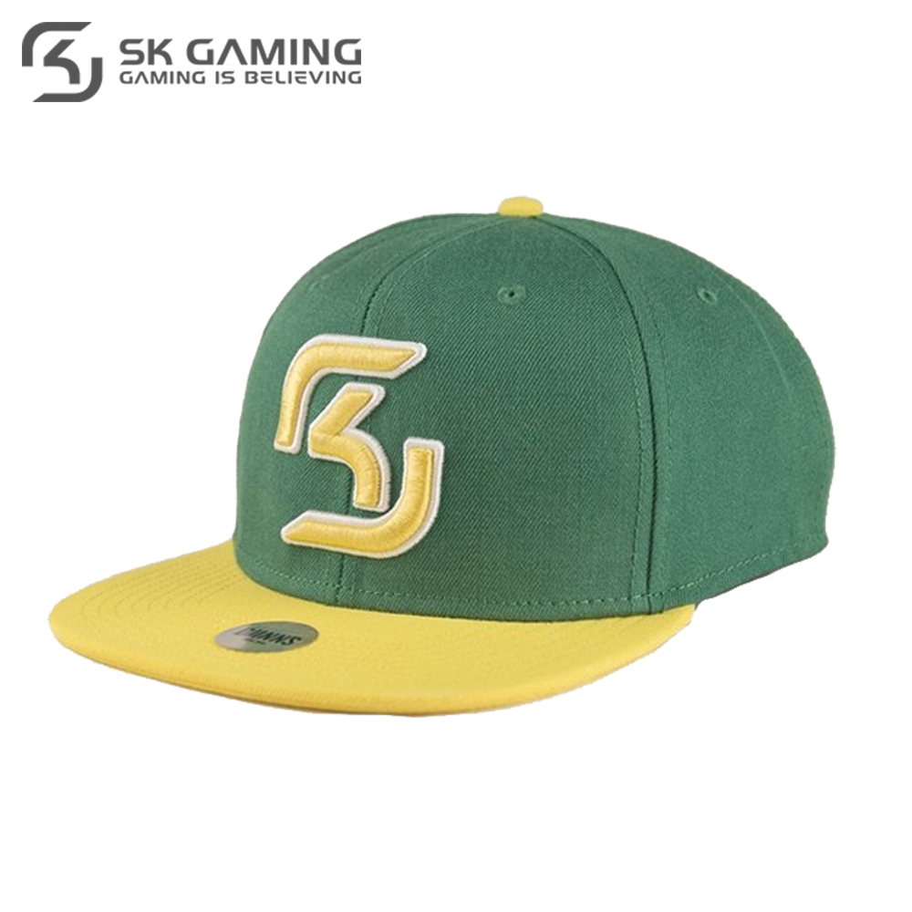 Baseball Caps SK Gaming FSKSNPCAP17GN0000 Hats Caps peaked cap for boys and girls girl boy summer snapback League of legends unisex letter w embroidery denim washed baseball cap vintage adjustable snapback hat