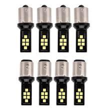 4pcs12SMD 12V 1156/1157 LED Branco Luzes de Freio Do Carro de Parada Vire Sinal de Inversão de Backup Lâmpada de Luz Acessórios Do Carro