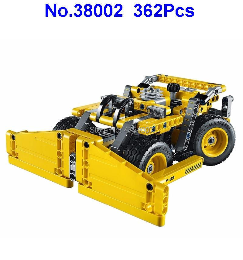 38002 362pcs Technic 2in1 Mining Truck Off-roader Car Lele Compatible 42035 Building Block Toy Toys & Hobbies