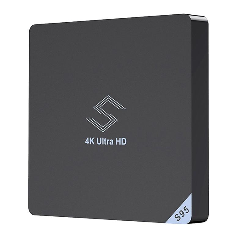 Boîtier Tv haut de gamme Beelink S95 Android 8.1 Amlogic S905X2 2.4 Ghz/5.8 Ghz Wifi Bt4.0 Support lecteur multimédia 4 K boîtier Tv H.265